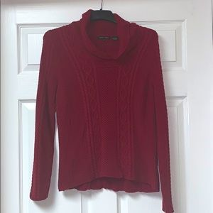 100% cotton cable sweater